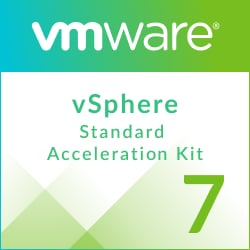 Upgrade: VMware vSphere 7 Essentials Kit to vSphere 7 Standard Acceleration Kit for 7 processors