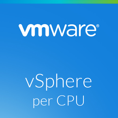 Upgrade: VMware vSphere 7 Standard to vSphere 7 Enterprise Plus for 1 Processor